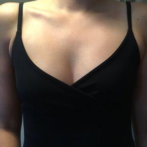 GAP Dresses - GAP Black Spaghetti Strap Midi Dress Size Small